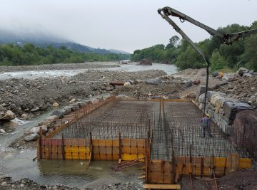 scala di risalita dei pesci fiume Sesia OPERE IDRAULICHE IN PIEMONTE